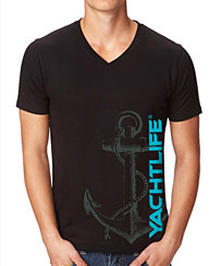 Nautical Anchor Black