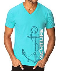 Nautical Anchor Tahiti Blue