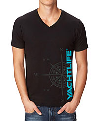 Nautical Compass Black