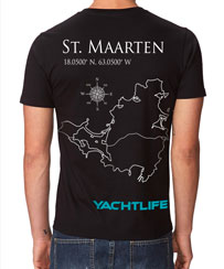 Destination St. Maarten Black